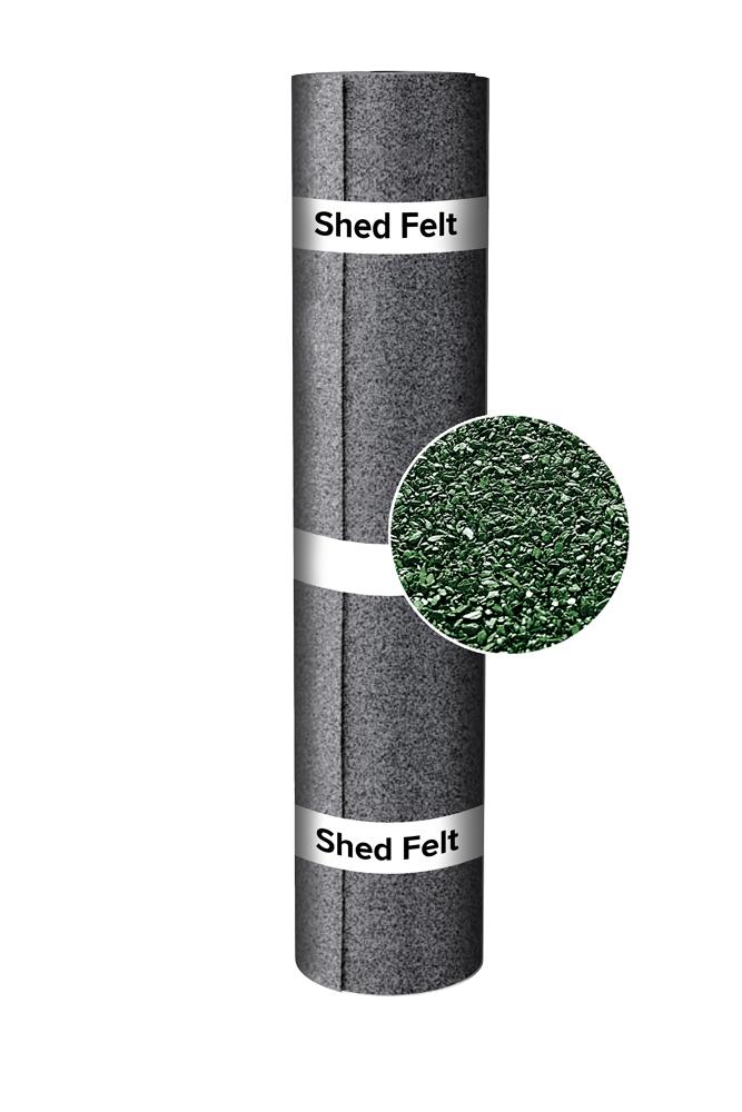 Shed-Felt+green